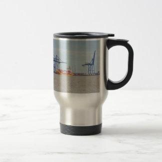 Container Port At Felixstowe Coffee Mug