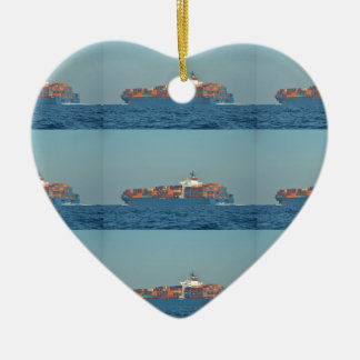 Container Ship APL CHILE Christmas Ornaments