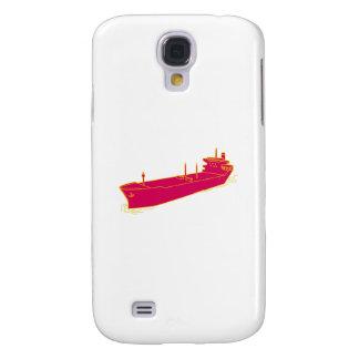 Container Ship Cargo Boat Mono Line Samsung Galaxy S4 Case
