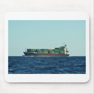 Container Ship Mousepad