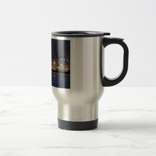 Container Ship Coffee Mugs