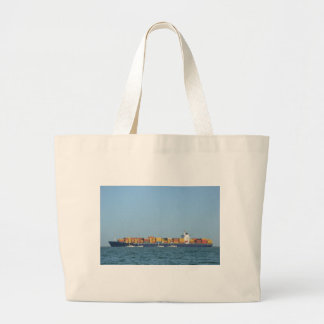 Container Ship Northern Dignity Canvas Bags