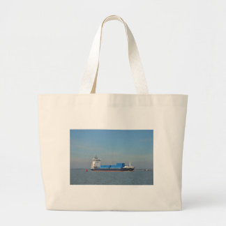 Container Ship Vantage Tote Bag