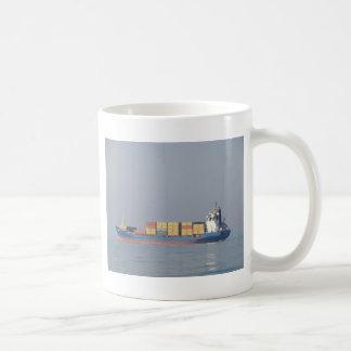 Container Ship Volos Coffee Mug