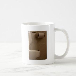 Contemplate in the loo coffee mug