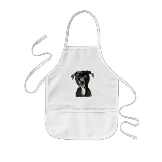 Contemplating Kids Apron