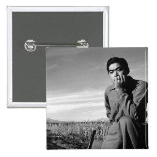 Contemplation at Manzanar, 1943 Pin