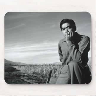 Contemplation at Manzanar, 1943 Mouse Pads