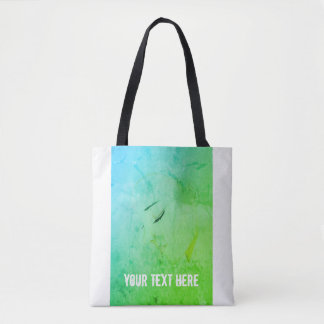 Contemplation Girl Lady Sketch Illustration Tote Bag