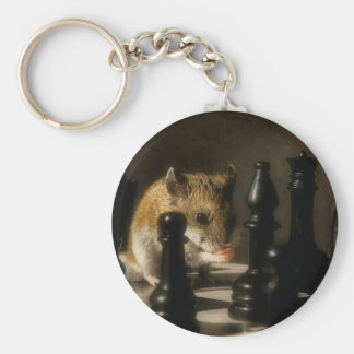 Contemplation Key Ring
