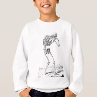 Contemplative Skelton Sweatshirt