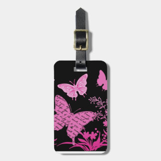 Contempo Butterflies...luggage tag
