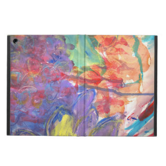 Contemporary Abstract Art Painting by Zona iPad Air Cover