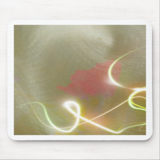 Contemporary  Abstract  Flower Mouse Pad