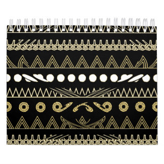 Contemporary African Style Art Wall Calendars