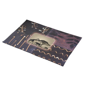 Contemporary: African Style Design Placemat