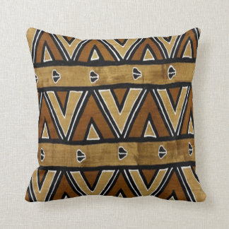 Contemporary: African Style Design Throw Pillow