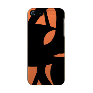 Contemporary Art Orange / Black Incipio Feather® Shine iPhone 5 Case