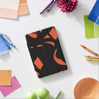 Contemporary Art Orange / Black iPad Mini Cover