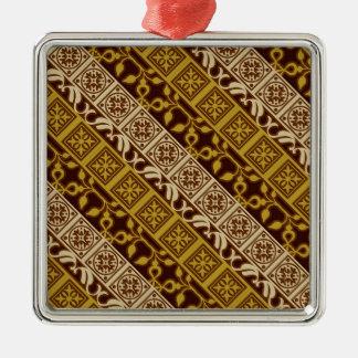 Contemporary Batik Pattern #1 Ornament