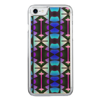 Contemporary Blue Columns Carved iPhone 8/7 Case