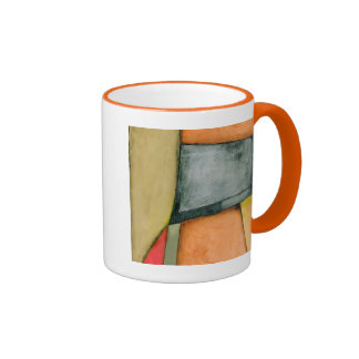Contemporary Colorful Geometric Shapes Mugs