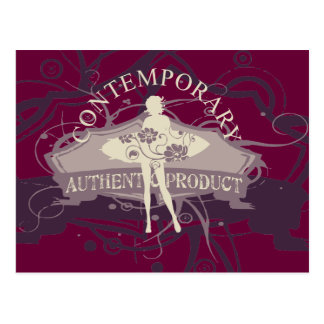 Contemporary Dance T-shirts and Gifts Post Card