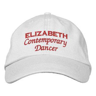 Contemporary Dancer Custom Name DA1 Embroidered Baseball Cap