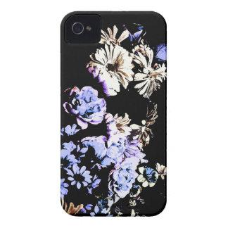 Contemporary Floral Medley Blackberry Bold Case
