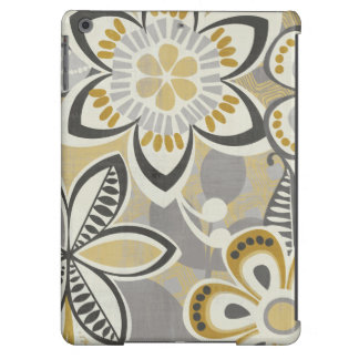 Contemporary Floral Patterns Cover For iPad Air