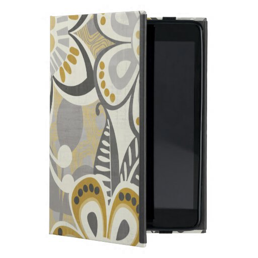 Contemporary Floral Patterns iPad Mini Case