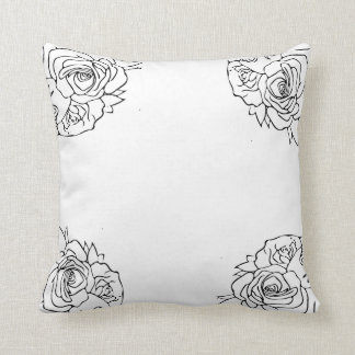 Contemporary Flower Pillow