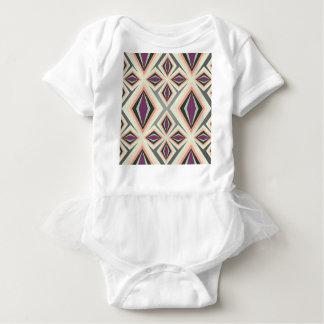 Contemporary Geometric Design Baby Bodysuit