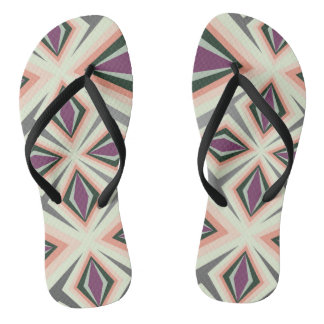Contemporary Geometric Design Thongs