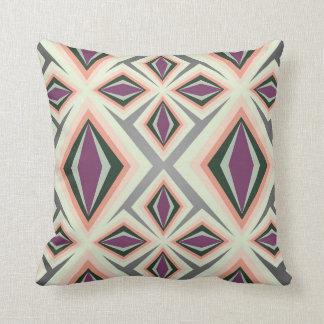 Contemporary Geometric Design Throw Pillow
