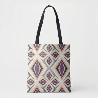 Contemporary Geometric Design Tote Bag
