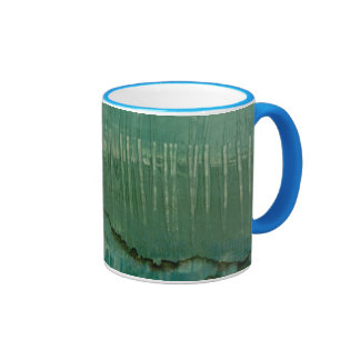 Contemporary Green Watercolor Coffee Mug