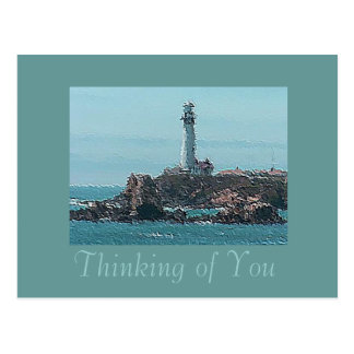 Contemporary Lighthouse Postcard