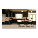 contemporary luxury kitchen business cards