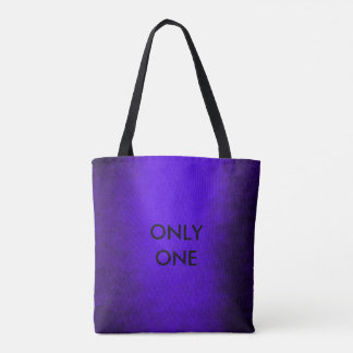 Contemporary Minimalism Glam Blue Cobalt Paining Tote Bag