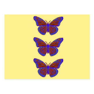 Contemporary Monarch Butterflies Gifts by Sharles Postcard