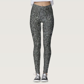 Contemporary Mosaic Patterned Leggings