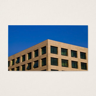 contemporary office building business card