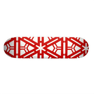 Contemporary Red Art 19.7 Cm Skateboard Deck