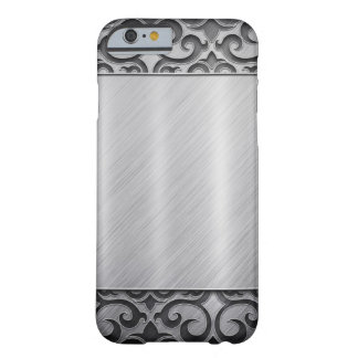 Contemporary Silver Metallic Swirl Case