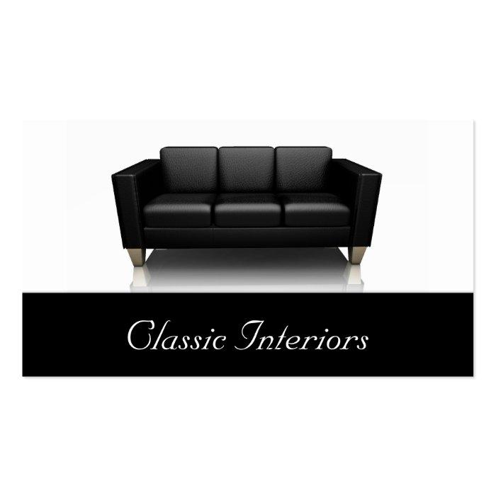 Contemporary Sofa Business Card