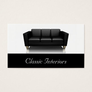 Contemporary Sofa Business Card