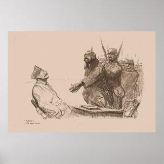 "Contemporary ""The Handshake"" 1914 - WW1 Print"