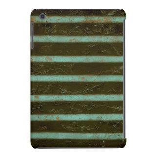 Contemporary Turquoise Air Grate iPad Mini Retina Cover