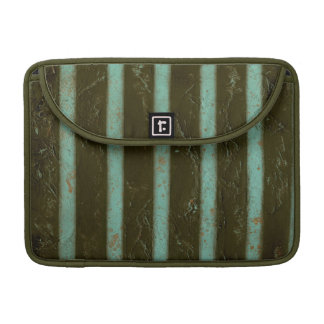 Contemporary Turquoise Air Grate MacBook Pro Sleeve